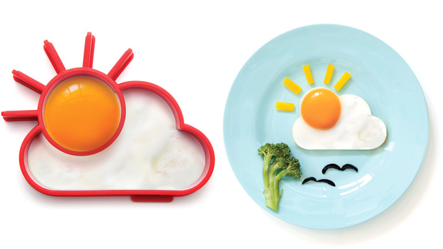 Click here to read It's Impossible To Wake Up Grumpy With This Sunny Silicone Egg Mold