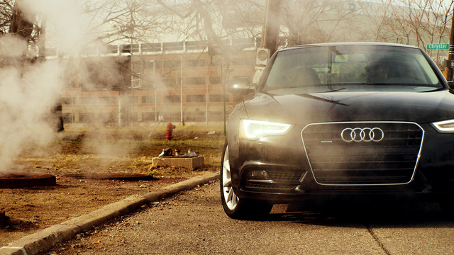 Click here to read Audi A5. Detroit. Steam.