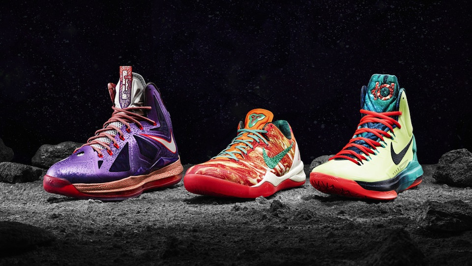 Kevin Durant All Star Game 2013 These Crazy Nike Shoes...