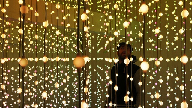 Click here to read I Want to Get Lost in This Room of 8,064 Floating Lights