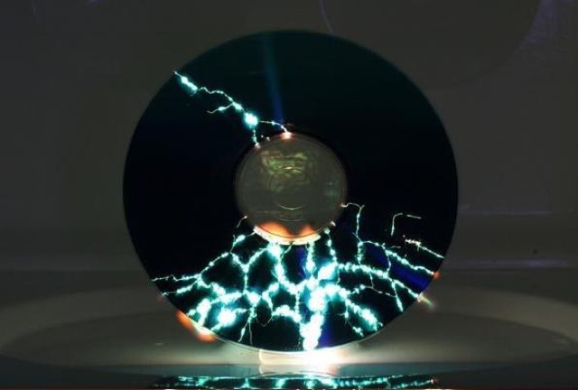 The Beauty of a Microwaved CD