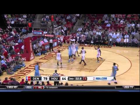 JaVale McGee Throws Himself An Alley-Oop, Dons A Celebratory Fi…