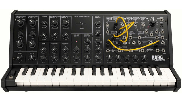 Click here to read Korg MS-20 Mini: A 1970's Patchable Synthesizer Shrunken Down and Resurrected