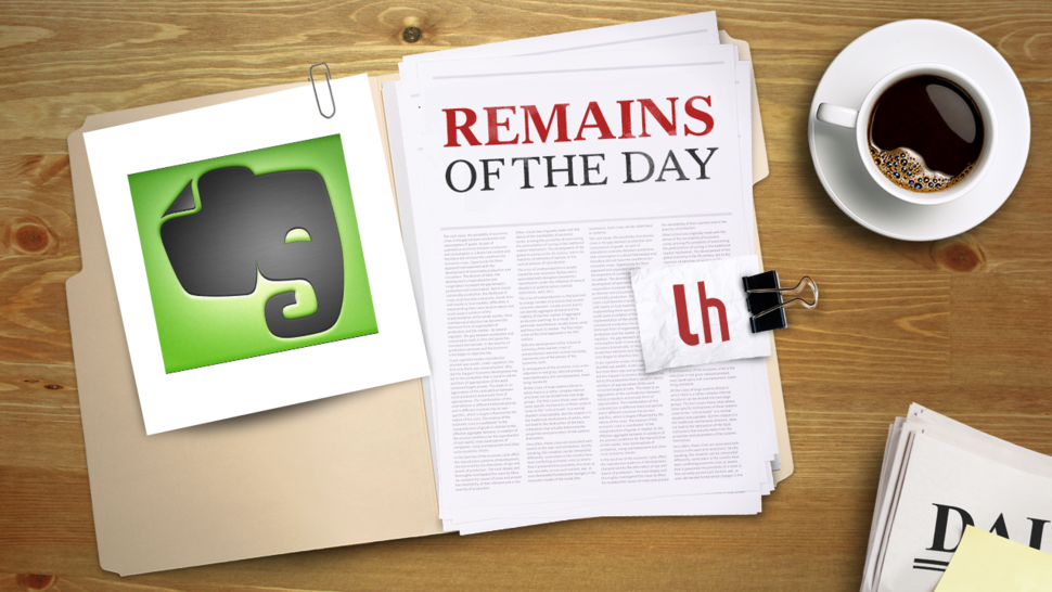 Remains of the Day: Evernote for Mac Gets Better Shortcuts