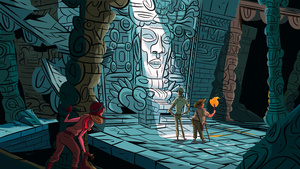 Play The Cave. You'll See Awesome Art Like This.