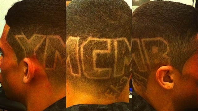 "Jets Winger Evander Kane Gets Giant ""YMCMB"" Shaved In…"