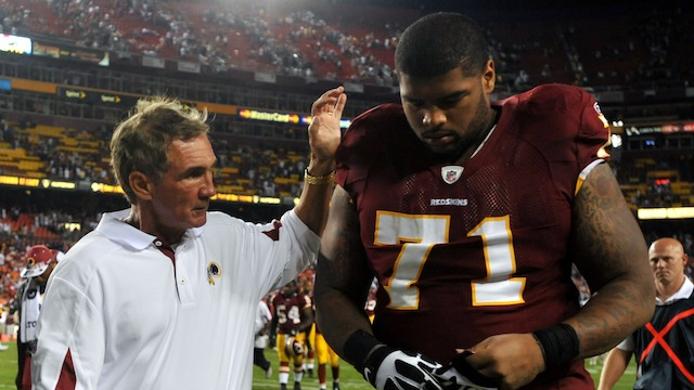 Redskins OL Trent Williams Will Miss The Pro Bowl Because A Nig…