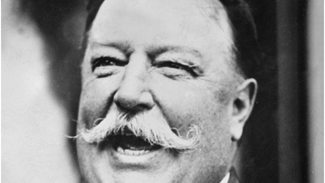 William Howard Taft joins Nats' president dash