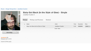 Jonathan Coulton 'Covers' Glee's Ripoff of 'Baby Got Back,' Puts It on iTunes, Proceeds Go to Charity