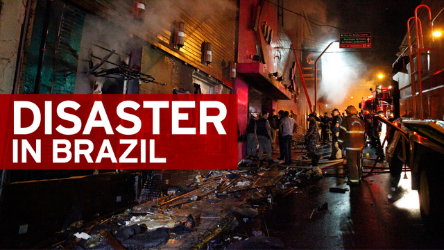 Nightclub Fire in Brazil Kills at Least 232 [UPDATE]