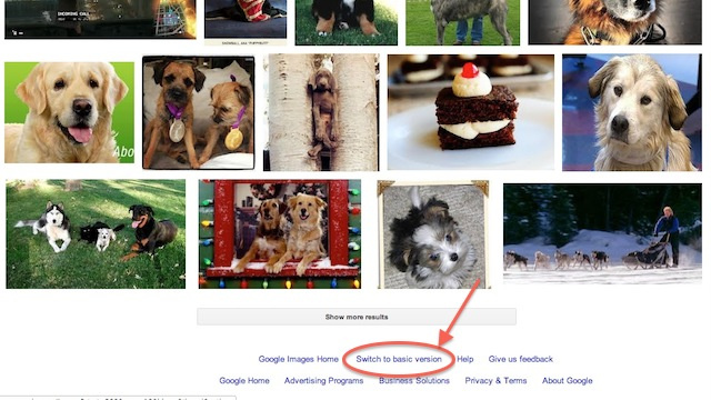 How to Switch Back to the Old Google Image Search