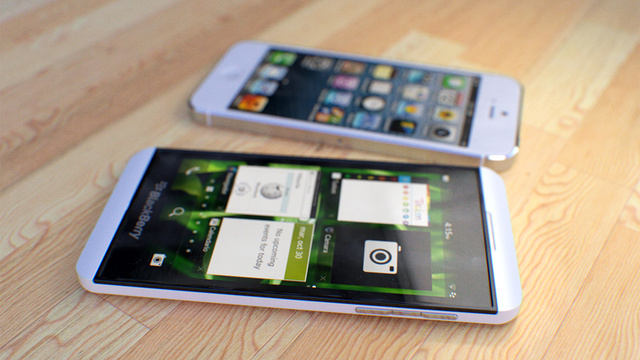 Perbandingan iPhone 5 Vs Blackberry Z10