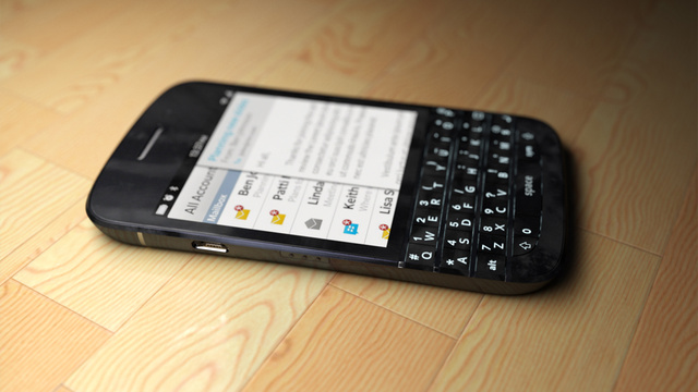 Foto Blackberry Q10