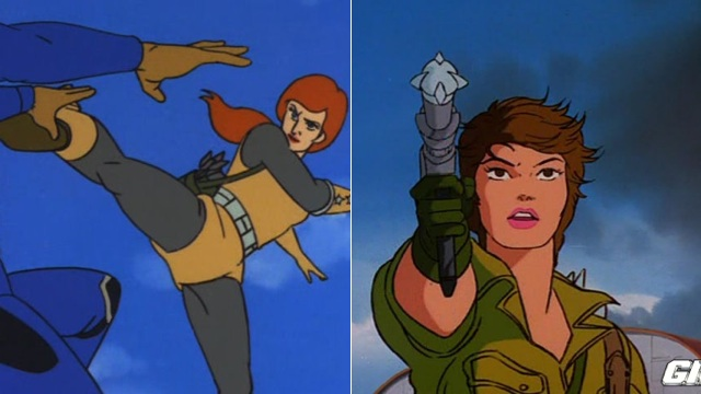 Male Cartoon Characters 80 S : The most badass cartoon heroines of ' s