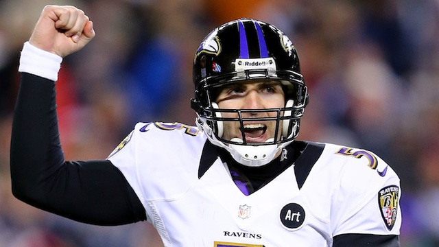 Joe Flacco has cold words for Super Bowl XLVIII in New York, ca…