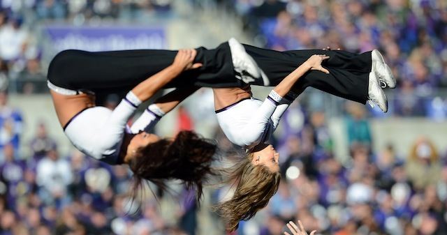 Help! Get! This! Ravens! Cheerleader! To! The! Super! Bowl!