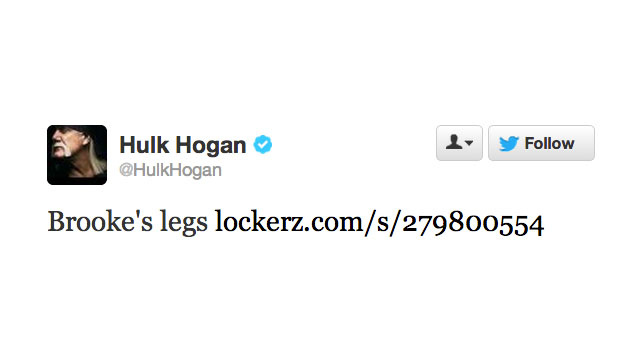 Hulk Hogan Wants You to Check Out His Daughter's Legs