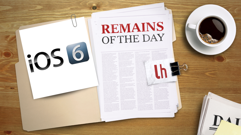 Remains of the Day: iOS 6.1.3 May Kill the Evasi0n Jailbreak