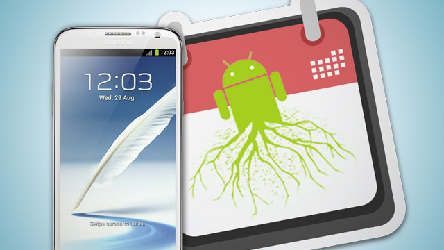 How to Root the Samsung Galaxy Note II [Out of Date]