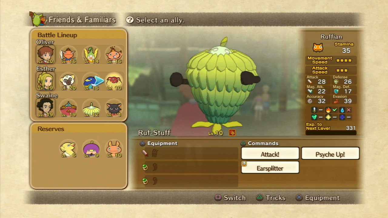 ni no kuni how to get more might