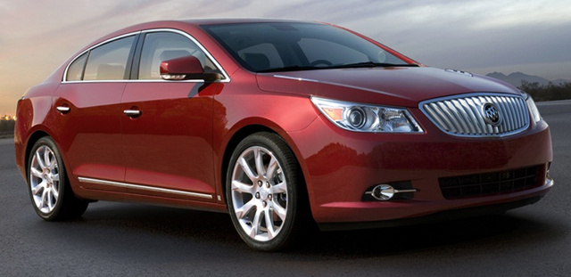 2010 Buick LaCrosse To Get Fuel-Sipping Ecotec Four-Banger