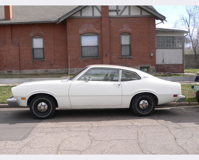 Sporty 1974 Ford Maverick Coupe Sneers At Its Stodgy Sedan Neighbor
