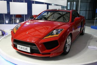 Chinese Automaker Builds Audi R8 - Ferrari F430 Mash-Up