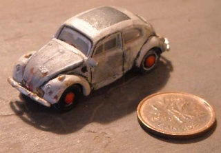 Crazed Modelmaker Makes Tiny-Scale Model Of Murilee's First-Ever Hell Project