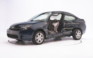 IIHS Crash Tests Five Budget Coupes: Ford, Volvo Earn Top Safety Picks