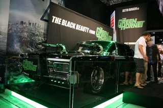 Green Hornet's Black Beauty Drops Cloth At Comic Con