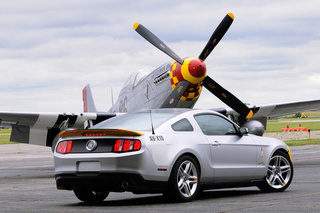 "Ford Mustang AV-X10 ""Dearborn Doll"" Takes Off"