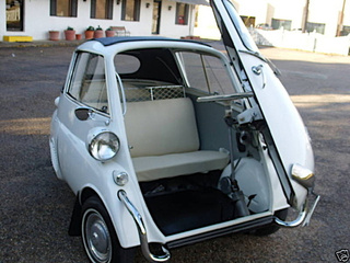 1958 BMW Isetta Convertible for an Eggcellent $39,650!