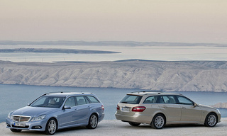 2010 Mercedes E-Class Estate Debuts Ahead Of Frankfurt