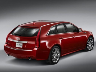 "Cadillac ""Re-Analyzing"" CTS-V SportWagon"