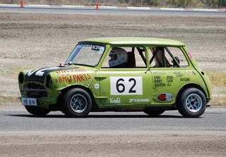 And The REAL Buttonwillow Histrionics Winner Is... The Mr Bean Austin Mini!