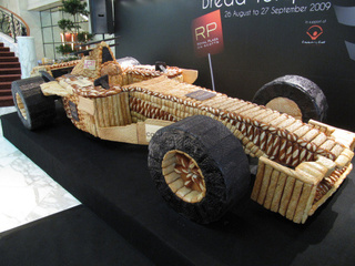 How To Bake A Life-Size F1 Car Out Of Bread