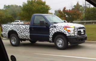 2011 Ford Super Duty Out For A Lightly Camouflaged Drive
