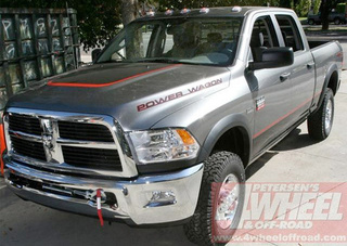2010 Dodge Ram Power Wagon: Now With Pretty Stickers!