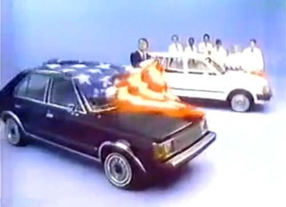 "All-American 1981 Plymouth Horizon Stomps On ""World Car"" Ford Escort"