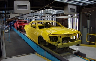 NatGeo's Ultimate Factories Visits Camaro Plant