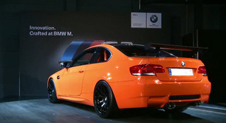 BMW M3 GTS: Less Weight, More Power, More M
