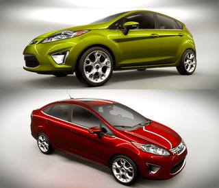 2011 Ford Fiesta U.S. Sedan, Hatchback Revealed Accidentally
