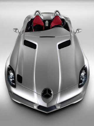Mercedes Bids Farewell To SLR, Builds Final Stirling Moss