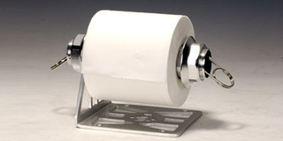Race To The Toilet In Style: Center Lock Toilet Paper Roll