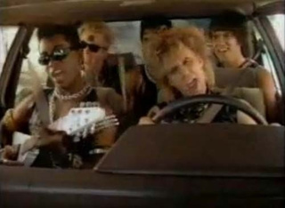 Room For a Rock Group, or a Group Of Rocks: 1985 Toyota Camry
