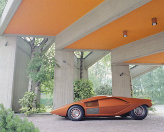 Orange You Glad To See The Lancia Stratos Zero?