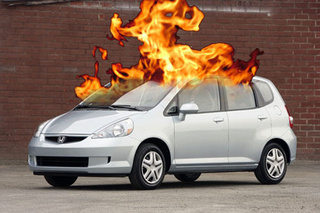 646,000 Honda Fits Recalled For Possibility Of Fiery Death