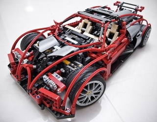 Bugatti Veyrons Look Awesome Built From Legos