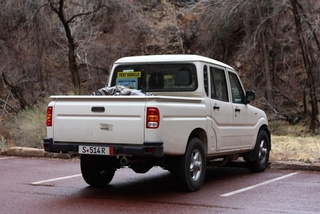 Poll: Mahindra Pickup Spied Again On U.S. Soil — Is It Fugly?