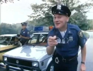 You Cannot Outrun The 1980 Rabbit Police Car!